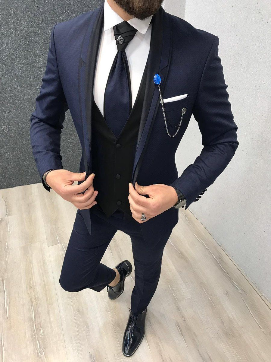 Light Blue Shiny Silky Suit Fabric Best for Pants Coat Blazer Suiting