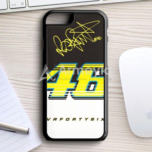 Valentino Rossi Vr46 #Iostoconvale iPhone 7 Case   armeyla.com