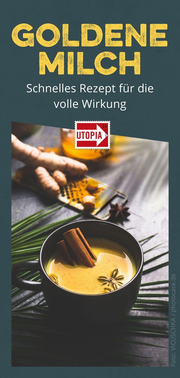 Photo of Golden milk: quick recipe for full effect