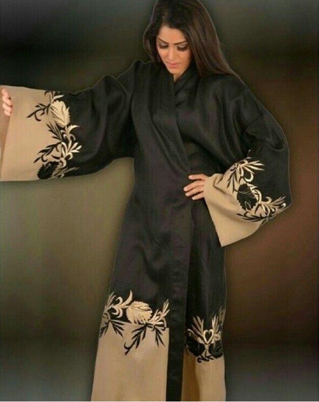 Pin By Wael On Abaya Abaya Designs Arab Fashion Arabian Dress