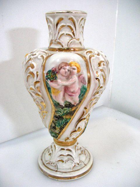 Vaso in ceramica di capodimonte anni 39 50 capodimonte for Vaso capodimonte