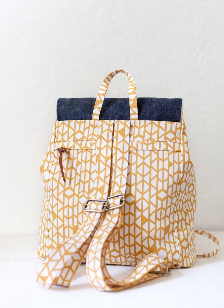 London Backpack | Nähen, Rucksäcke und Rucksack tasche