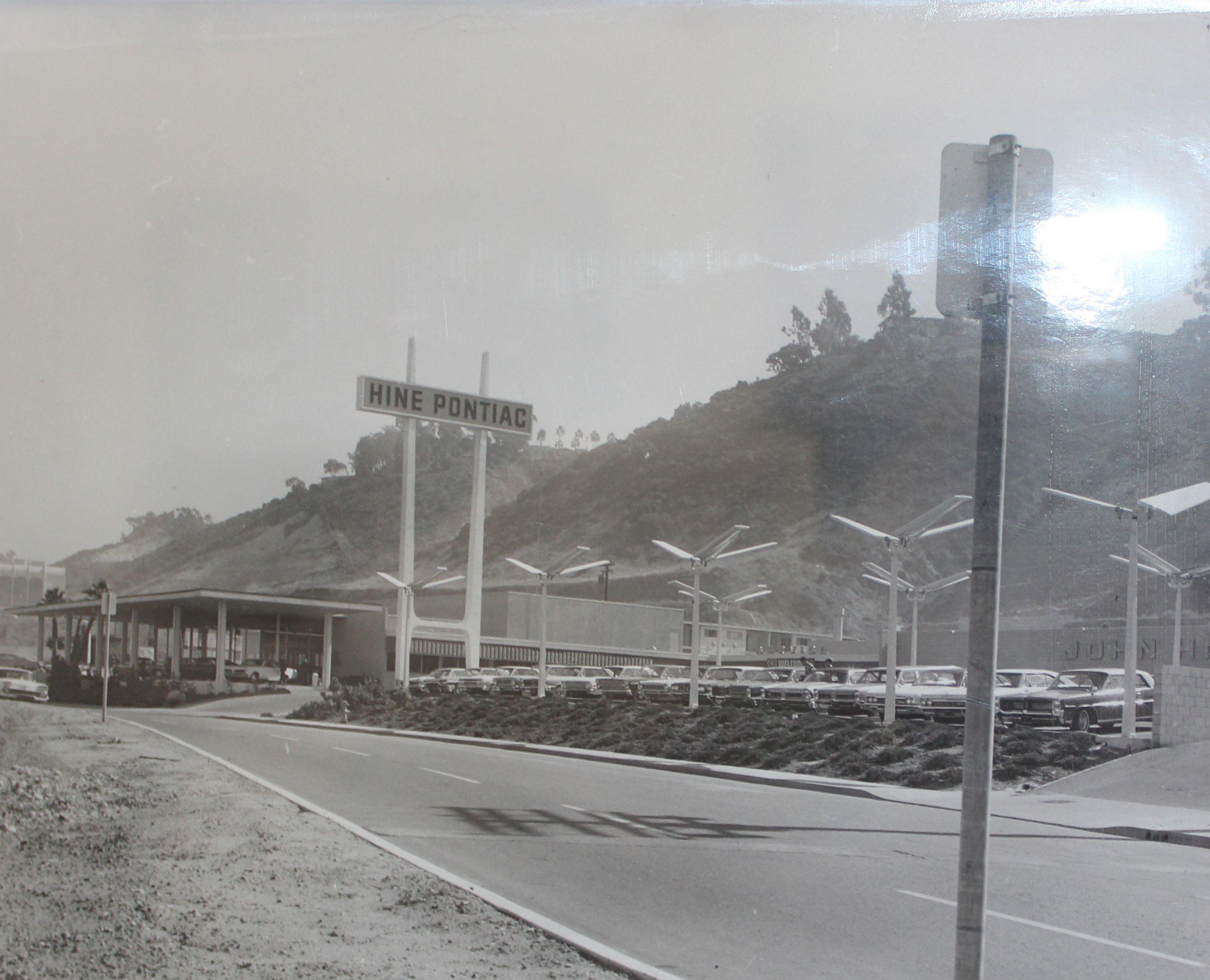 Mazda Dealership San Diego >> John Hine Pontiac 1957 Mission Valley San Diego. #Throwback | Our Dealership in 2019