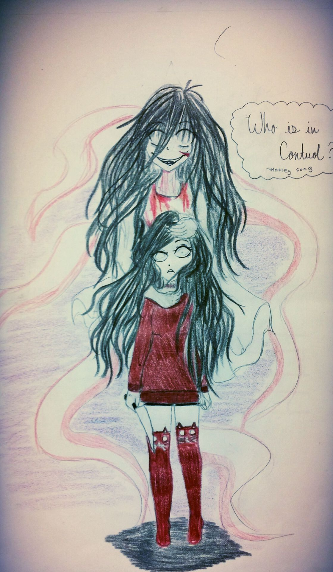Bloody Sisters (Creepypasta x Reader ) | random | Sketches