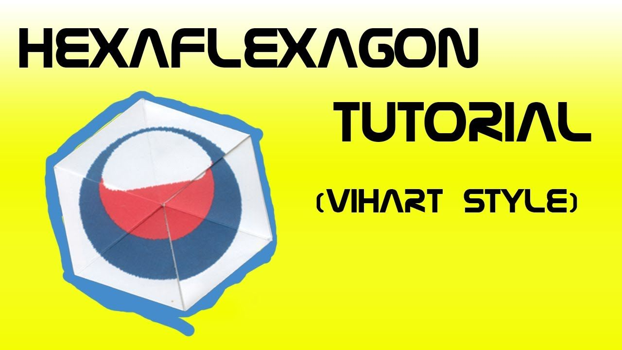 Hexaflexagon Tutorial Vihart Style  Terene