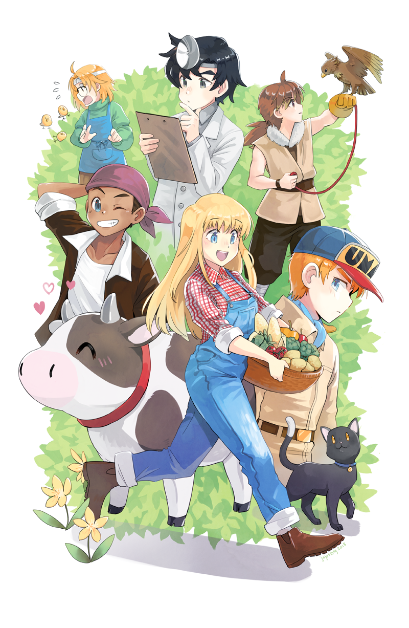 Harvest Moon More Friends Of Mineral Town By Jojostory Harvest Moon Harvest Moon 64 Harvest Moon Game