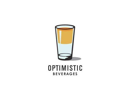 Bebidas optimistas :) #creatividad #diseño