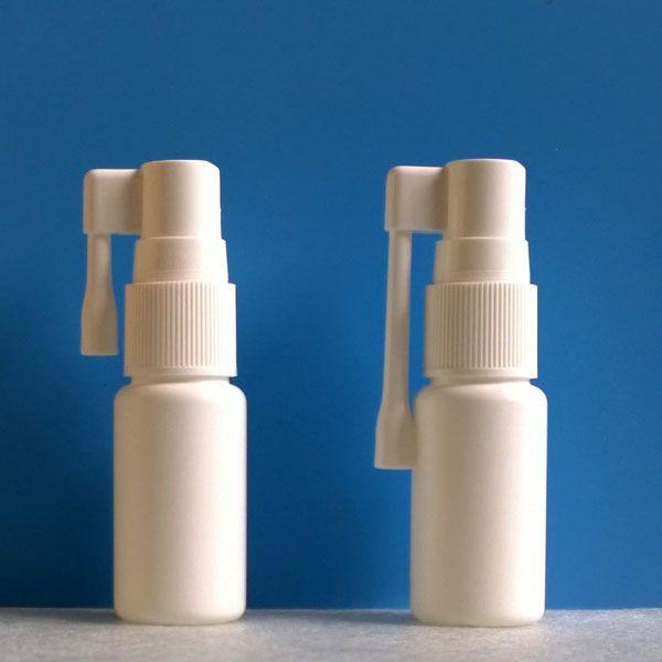 15ml Plastic HDPE Spray Bottle, with Fine Mist Sprayer