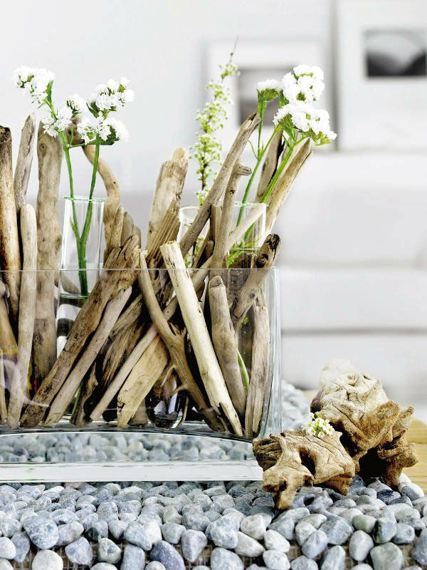 A Brilliant Idea, Is To Use Driftwood For Interior Decoration It Is Not  Only Beautiful, But Also Environmentally Friendly. Use Old Wood, To The  Creation Of