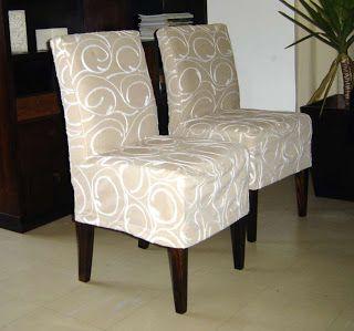 capa para cadeira casa pinterest housses housses de chaises et chaises. Black Bedroom Furniture Sets. Home Design Ideas