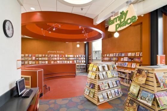Rosegarden Library Hga Public Library Design Library Design Library