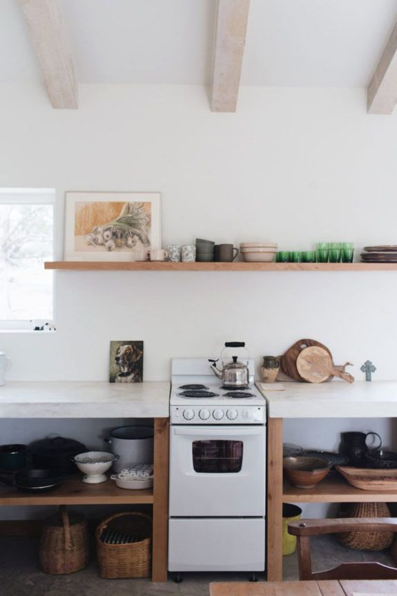 shelf life. #minimalistkitchen