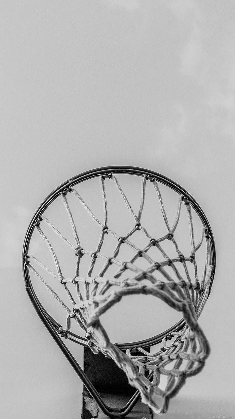Basketball Rim Red Sports Dark Wallpaper Hd Iphone Basketball Iphone Wallpaper Basketball Wallpaper Basketball Rim