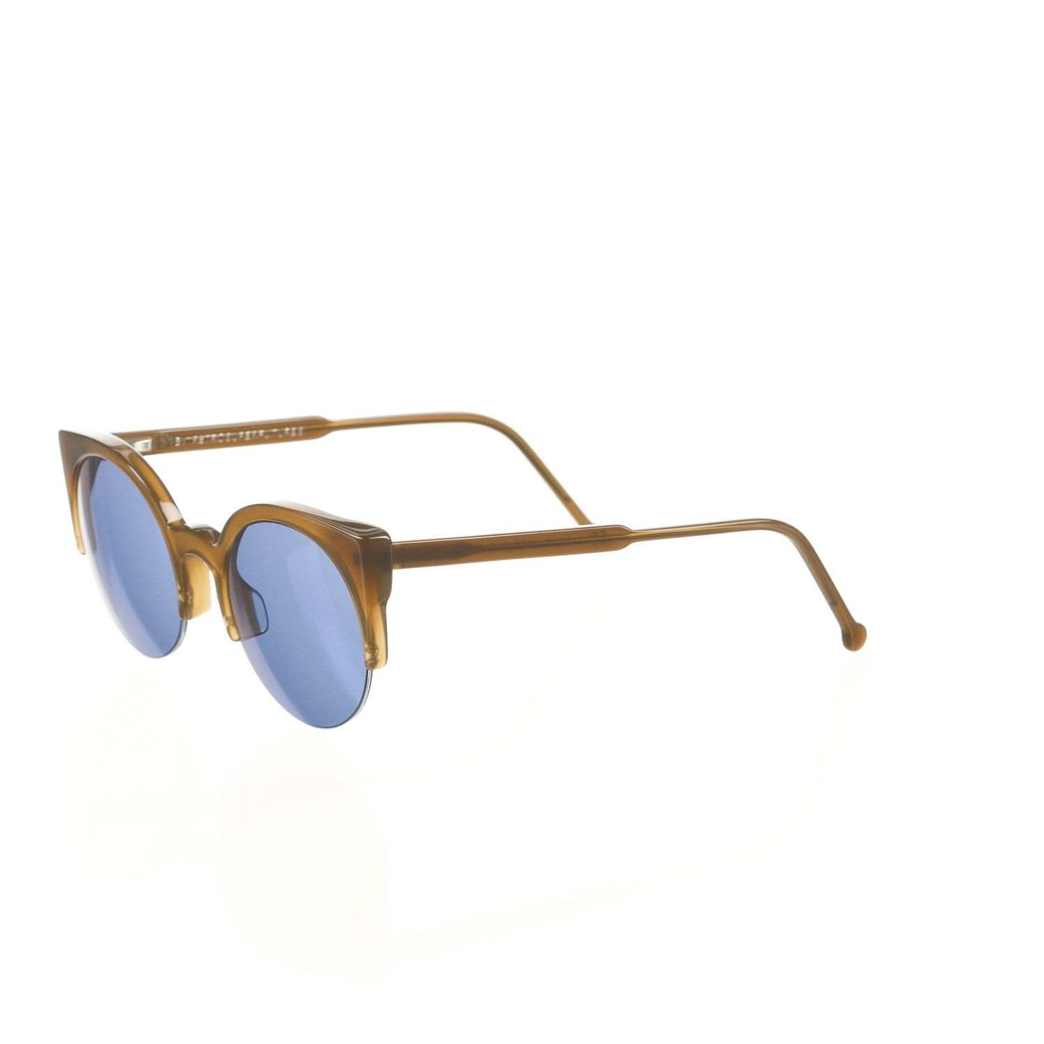 b65a8f69556 Retrosuperfuture Lucia Deep Brown Fashion Sunglasses mm Arms are moldable  by an optometrist Carl Zeiss lenses Microfiber cleaning pouch included Hand  made ...
