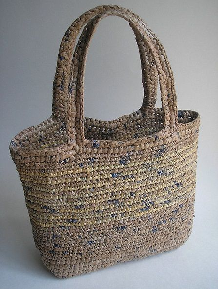 Made of plastic bags!!! recycling and upcycling