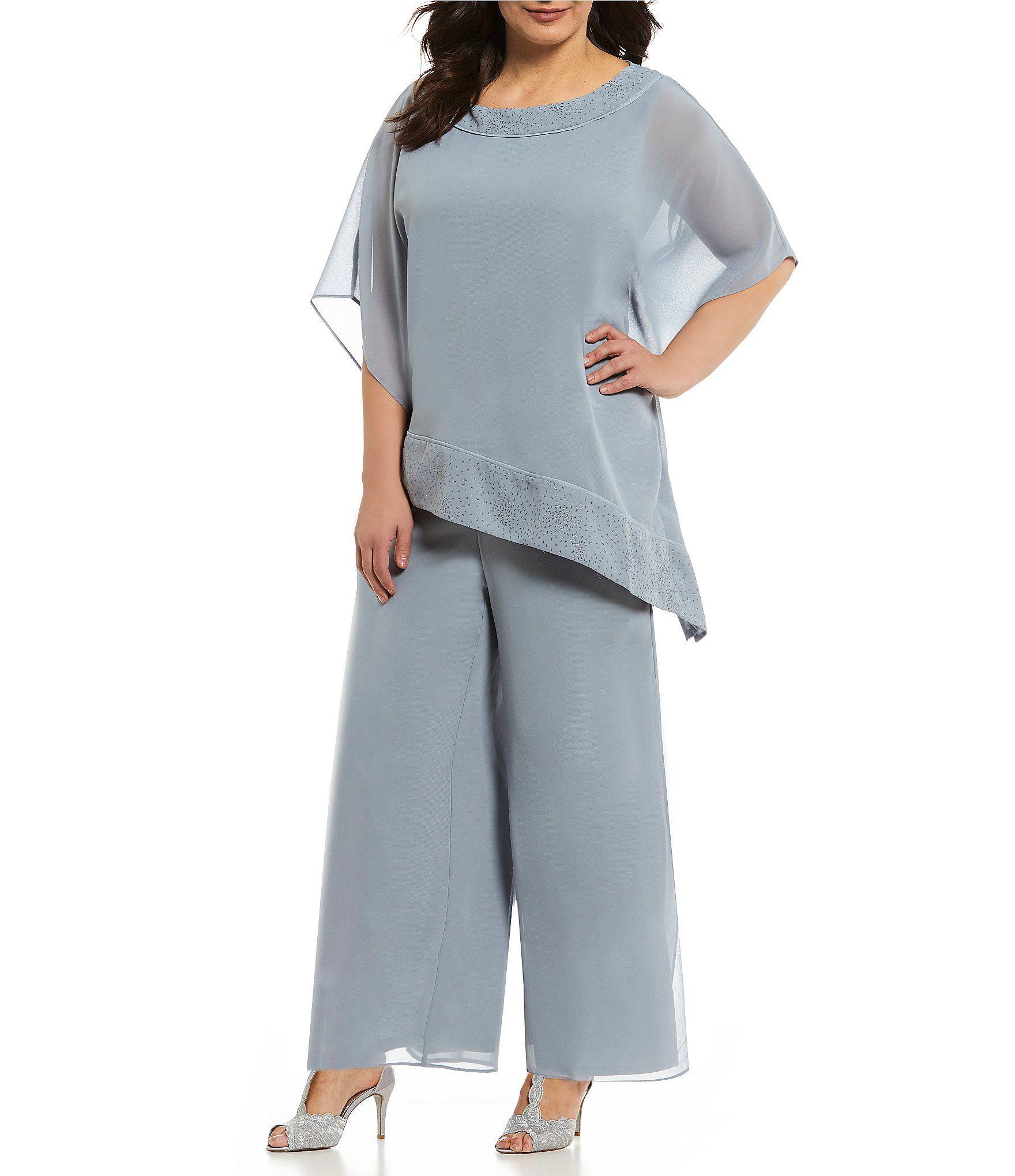 Dillards Pant Suits Plus Size