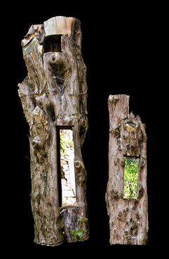 Totholz Totholzkunst Kunst Naturgarten Wildlife Garden Dead Wood Deadwood Art Object Naturgarten Kunst Holz