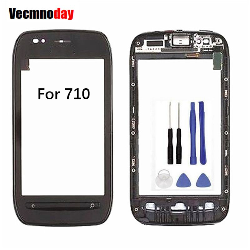 Cheap touch screen digitizer, Buy Quality touch screen digitizer replacement directly from China screen digitizer Suppliers: Vecmnoday Replacement Glass Touch Screen Digitizer For Nokia Lumia 710 + Bezel Frame Touch Panel with Tools