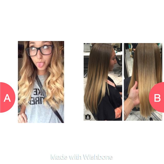 Curly or straight hair? (This is me????) Click here to vote @ http://getwishboneapp.com/share/6136459
