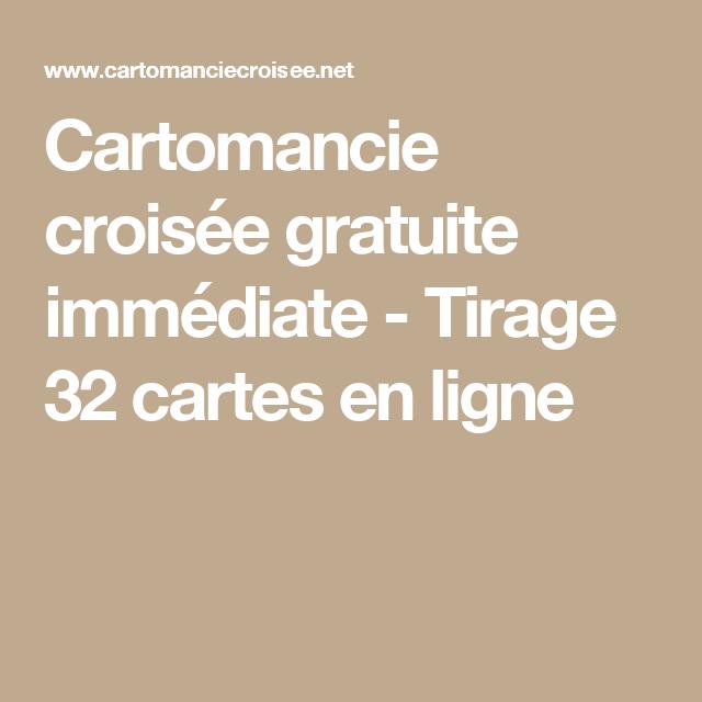 Cartomancie croisée gratuite immédiate - Tirage 32 cartes en ligne Cartes  Gratuites, Tarot De Marseille 6820c0ad5f39