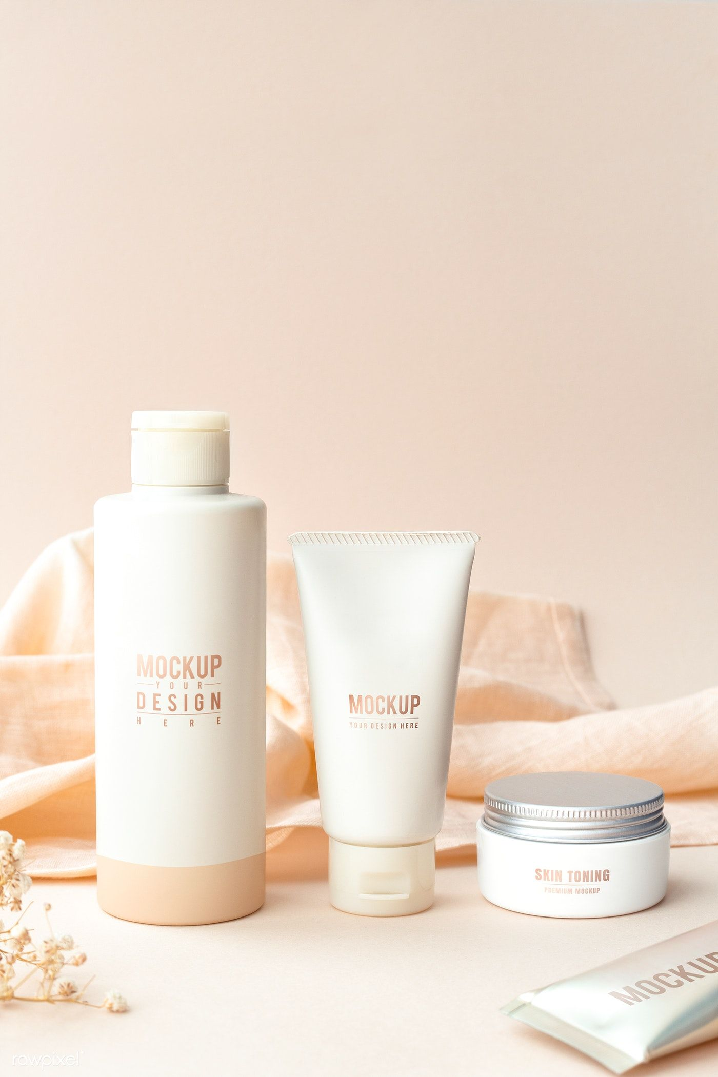 Download Premium Psd Of Beauty Products Mockup Design Set 1209908 Beauty Products Mockup Beauty Products Photography Cosmetic Design