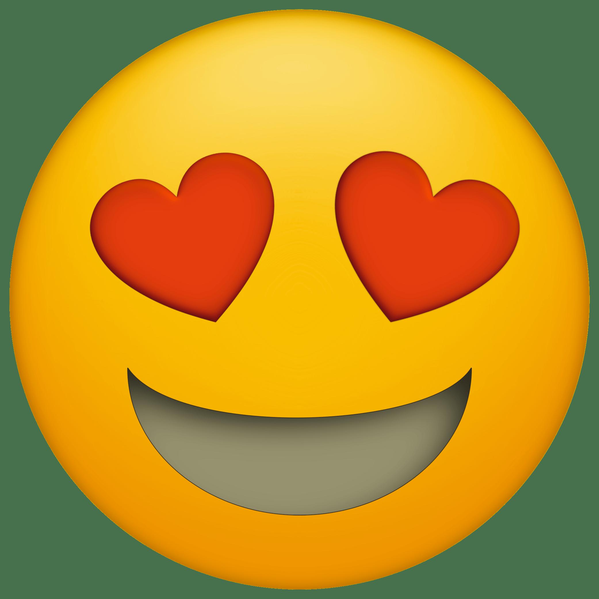 Heart Eyes Png 2083 2083 Emoji Dibujos Emojis Emoji
