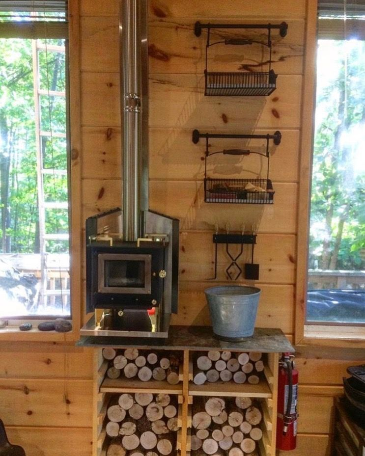 Pin By Eva Bell Berry On Home Inspo In 2019 Tiny House Wood Stove