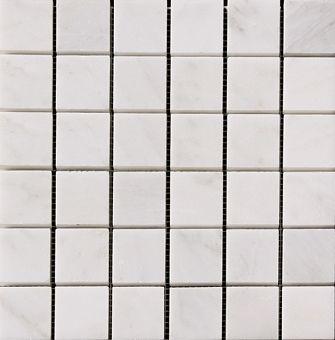 Mwm1148 Calacatta Chiara 1x1 Marble Mosaic 12x12 Marble Mosaic Mosaic Tile Sheets Glass Mosaic Tiles