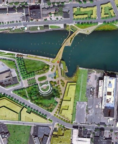 Providence River Pedestrian and Cyclist Bridge Competition Winner / inFORM Studio | ArchDaily