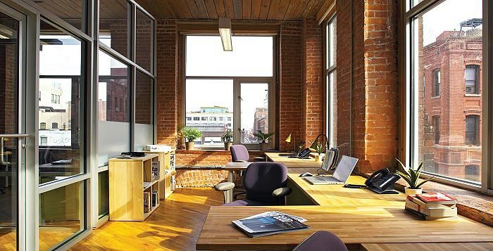 Office Space Brooklyn Nyc Rent Desk Space Coworking Space Office Space Design Office Space Decor Small Space Office