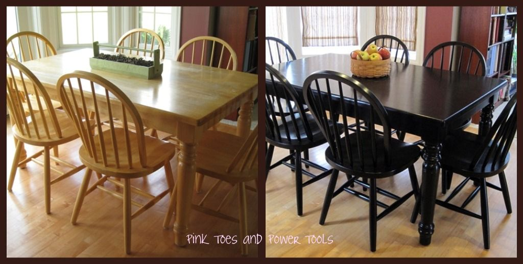 Dining Room Table Refinishing Ideas Part - 30: Painting The Dining Room Table Post 5: FINISHED!...maybe