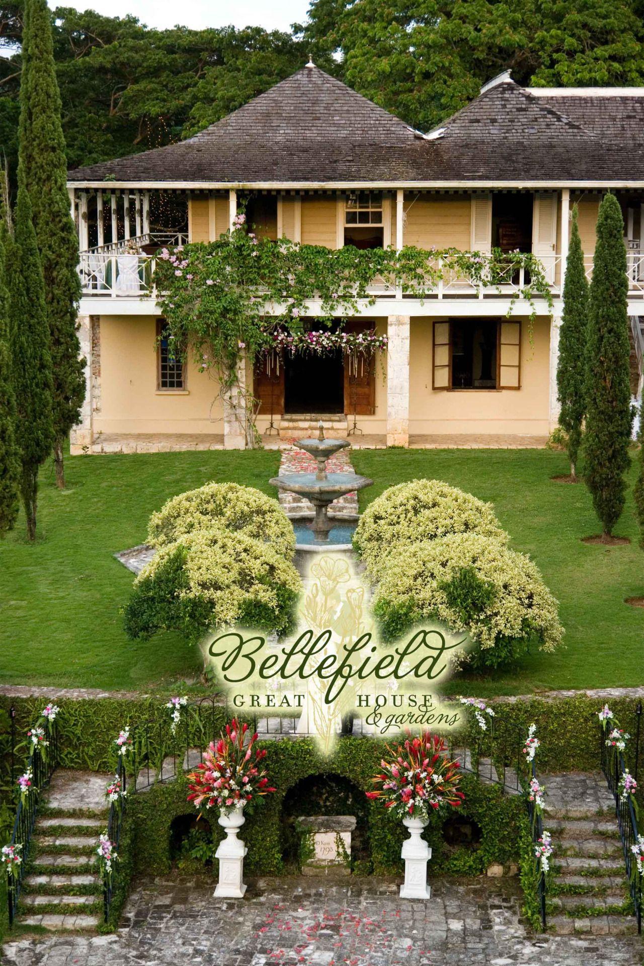 Bellefield Great House Gardens Montego Bay St James Jamaica
