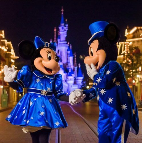 Disneyland Paris Reveals Mickey and Minnie's 25th Anniversary Outfits