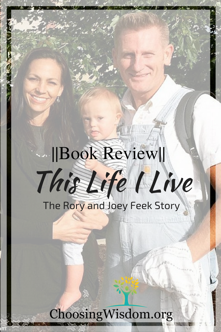 Book Review: Rory+Joey Feek story.  Live of choices, learning, and faith.