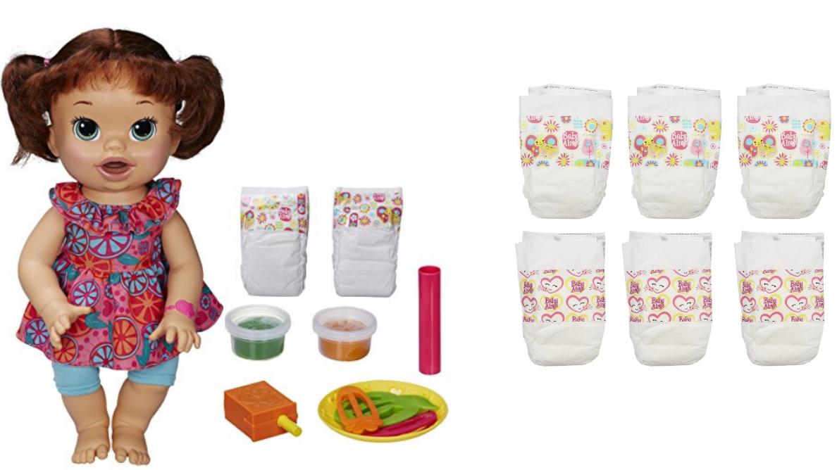 Baby Alive Brunette Super Snacks Snackin Sara Plus 6 Pack Diapers Craft Activities For Kids Chores For Kids Activities For Kids