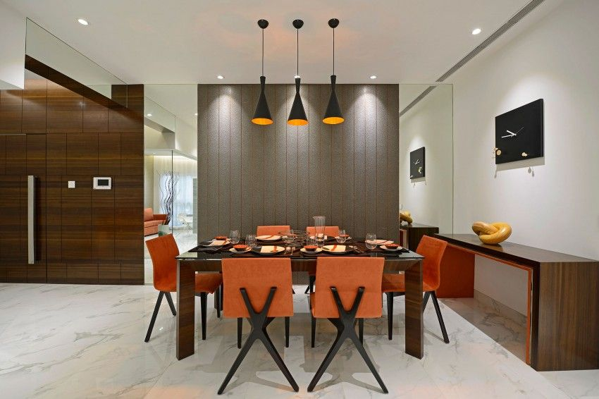 Mumbai Based Architectural Practice GA Design Has Designed The Ridgewood Project Luxury Residence Apartment Is Located Close To Main Arterial