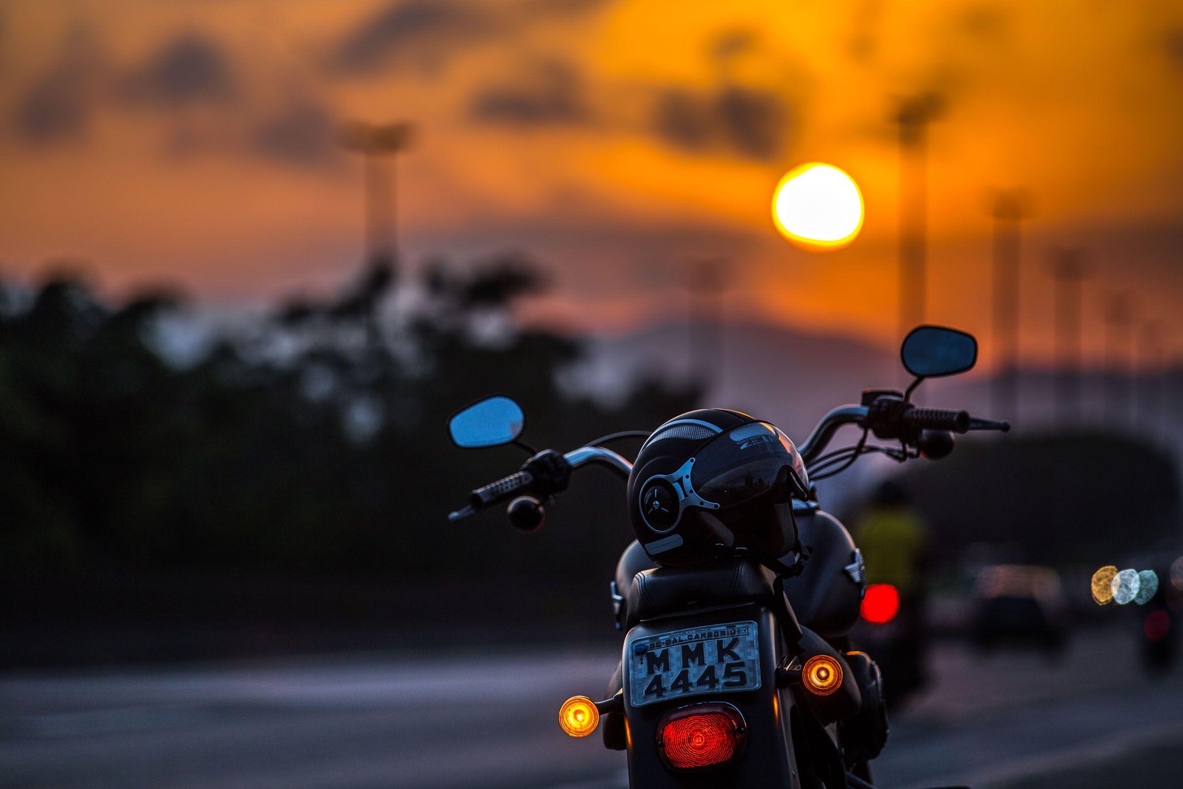 BR 101, Santa Catarina. Harley-Davidson Fat Boy LO 2012. Balneário Camboriú,