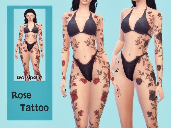 GossipGirl-S4's Rose Tattoo - GossipGirl