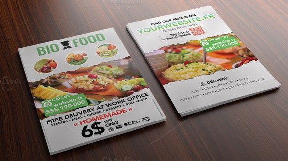 flyer bio food for caterer flyer templates 5 00 flyer