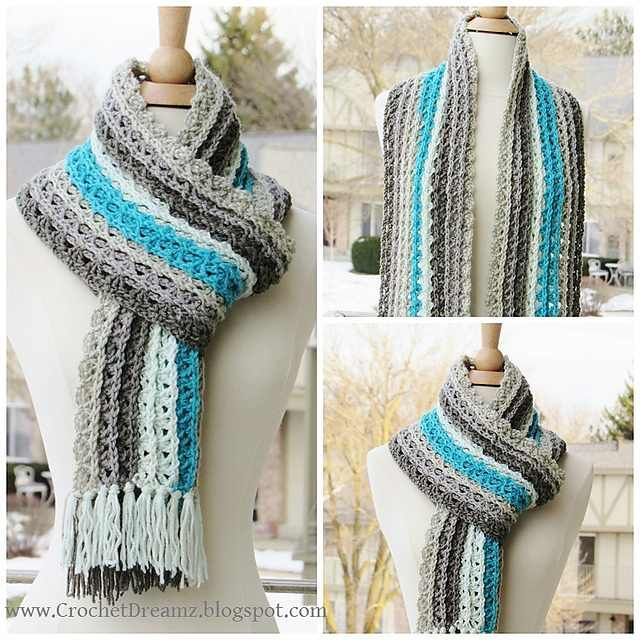 Gorgeous One Skein Crochet Scarf To Elevate Your Outfit And Keep You ...