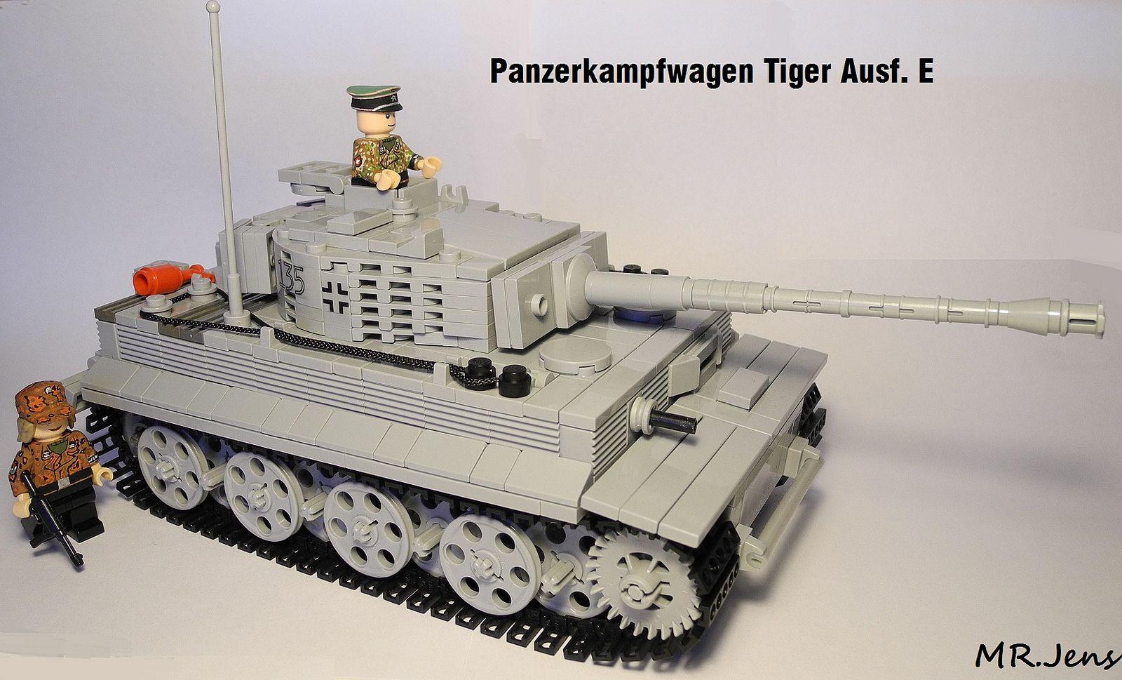 37052ac87eca0 Panzerkampfwagen Tiger Ausf. E WWII LEGO   LEGO Assault   Lego, Lego ...