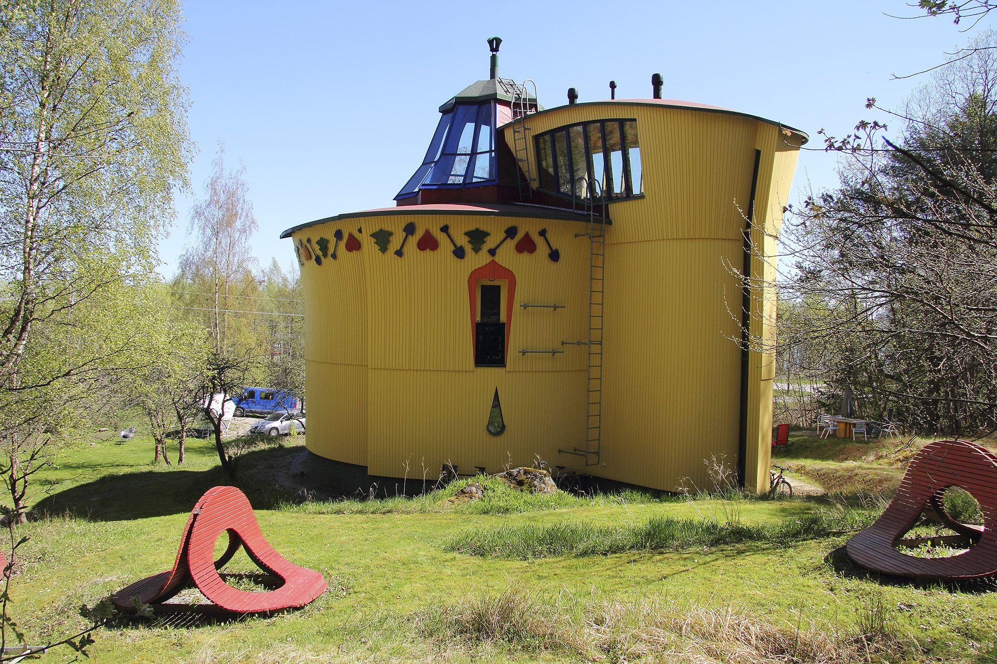Unelmien Asunnot -blogi: Talo kuin taideteos