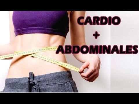 Rutina en la que hacemos cardio y abdominales, muy completa para reducir y endurecer abdomen y cintura, y quemar grasa acumulada y muchas calorías, y elimina...
