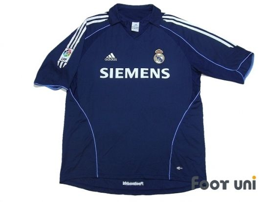 timeless design 1dde2 54e12 Real Madrid 2005-2006 Away Shirt LFP Patch/Badge ADIDAS ...