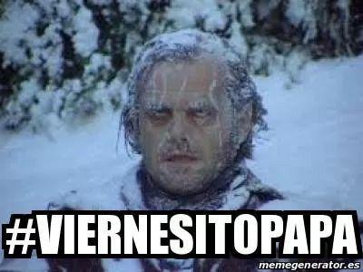 Viernes Congelado Jajaja Memes Viernes Lol Memes De Frio Imagenes Chistosas De Frio Chiste Grafico
