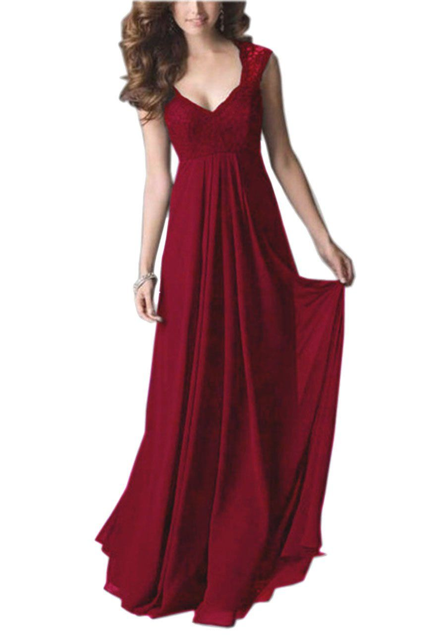 REPHYLLIS Women Sexy Vintage Party Wedding Bridesmaid Formal Cocktail Dress | Amazon.com