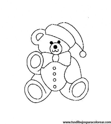 dibujos para colorear de osos | dibujos | Pinterest | Colorear, Osos ...