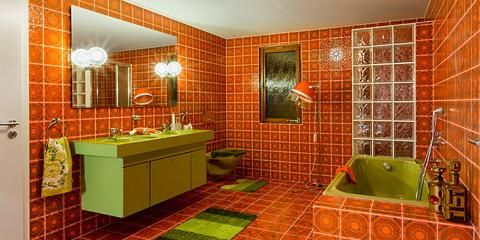 Http Heartoftucsonart Info 129 Badezimmer 70er Html 70s Home Decor Vintage Bathrooms