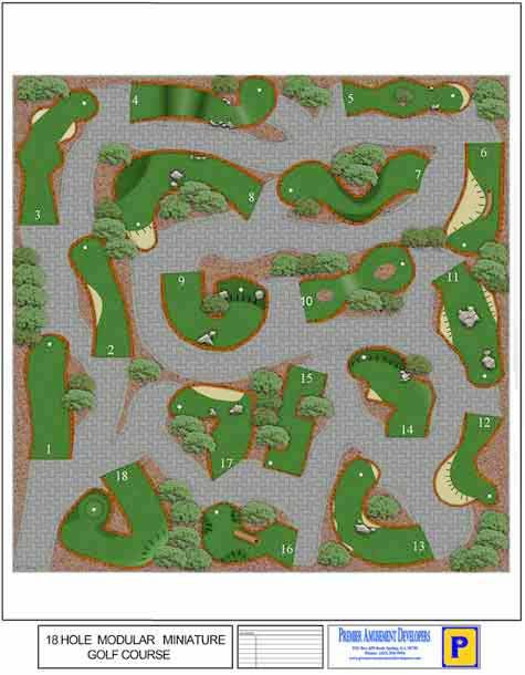 Miniature Golf Course Design Inspiration Back Yard Pinterest