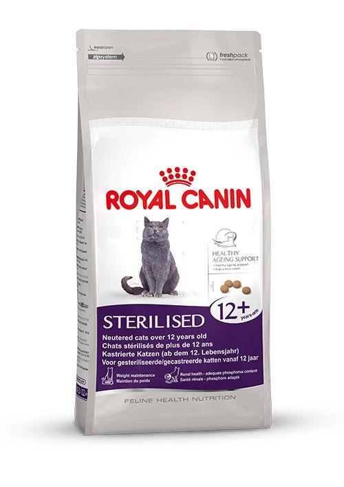 Sterilised 12+ -  Speziell für #kastrierte #Katzen ab dem 12. Lebensjahr.  Für einen #gesunden #Alterungsprozess enthält #STERILISED 12+ insbesondere einen #Antioxidanzienkomplex (Vitamine, Lycopen, Grüntee und Traubenpolyphenole) sowie eine höhere Menge an essenziellen #Fettsäuren. http://www.royal-canin.de/katze/produkte/im-fachhandel/nahrung-nach-mass/ab-12-jahre/sterilised-12/eigenschaften/